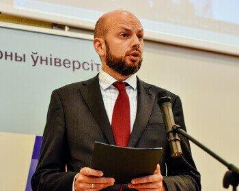 ЕГУ начал 25-ый учебный год с призыва к усилению вклада в развитие гражданского общества в Беларуси и регионе