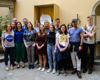 Студенты и преподаватели ЕГУ укрепляют партнёрские связи с Флоренцией