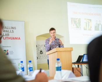 В ЕГУ состоялся форум Falling Walls Lab Lithuania