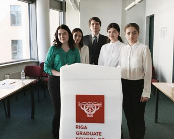 Студенческая команда ЕГУ выступила на международном юридическом конкурсе Riga Moot 2018
