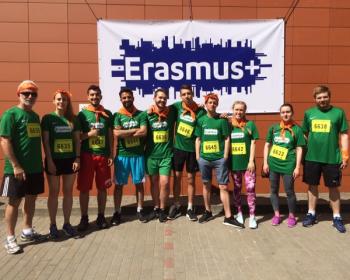 Студенты ЕГУ приняли участие в забеге We Run Vilnius
