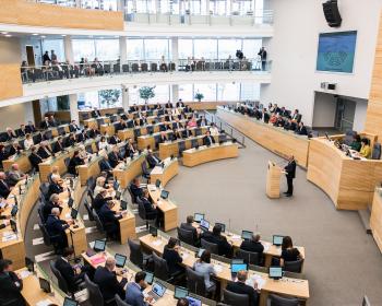 Сейм Литвы принял закон об университетах в вынужденном изгнании
