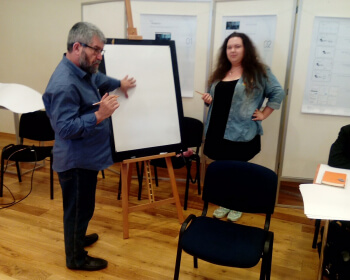 Всемирно известный художник Саша Окунь выступил в ЕГУ