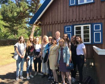В Клайпеде прошла трехдневная экскурсия Центра немецких исследований ЕГУ
