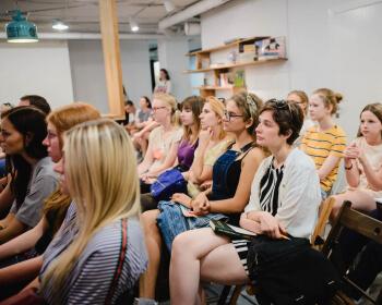 Летний «День с ЕГУ» в Минске собрал 75 абитуриентов и их родителей