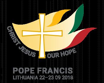Регистрация на мероприятия, посвященные апостольскому визиту Папы Римского Франциска в Вильнюс