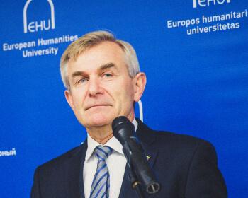 Спикер Сейма Литвы — студентам ЕГУ: «Давайте создадим наше будущее вместе»